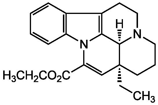 Vinpocetine Structure