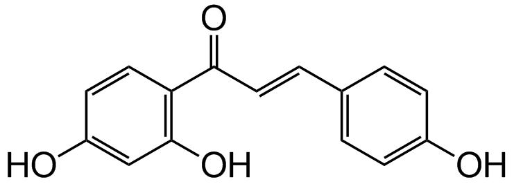 Isoliquiritgenin Structure