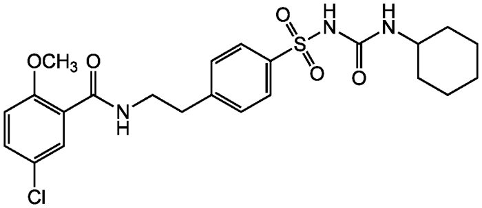 Glyburide Structure